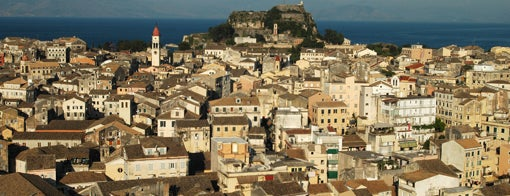 Corfu Town is one of Summer destinations in Greece.