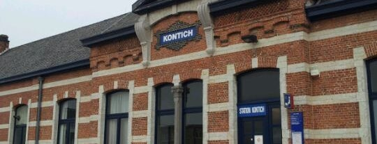 Station Kontich-Lint is one of Travel.