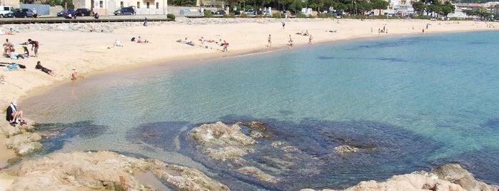 Sa Caleta is one of Playas de España: Cataluña.