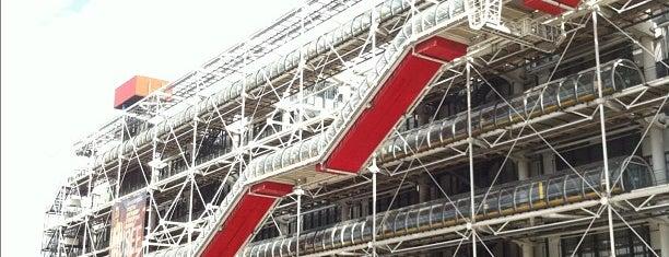 Centre Culturel Georges-Pompidou is one of Paris.