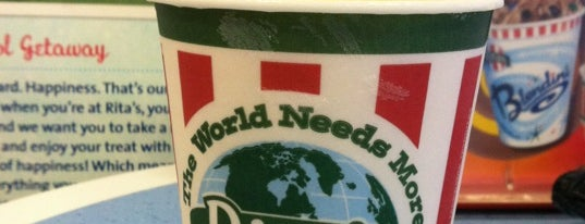 Rita's Italian Ice & Frozen Custard is one of Tylerさんのお気に入りスポット.
