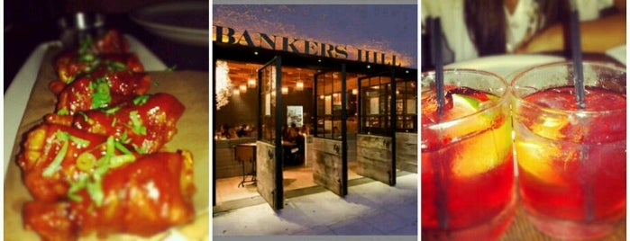 Bankers Hill Bar & Restaurant is one of Tempat yang Disukai Joey.