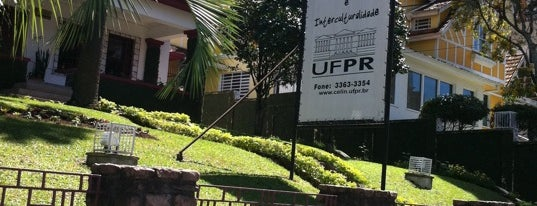 UFPR - Centro de Línguas e Interculturalidade (CELIN) is one of Locais curtidos por Raphaël.