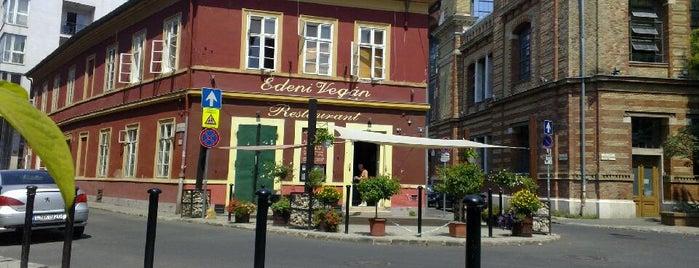 Édeni Vegán – Kézműves Vegetáriánus Étterem is one of vega és egészség.