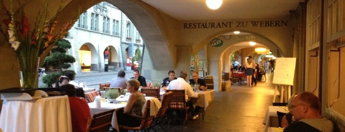 Restaurant Zunft zu Webern is one of Bern.