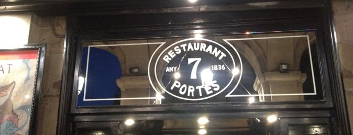 7 Portes is one of barca.