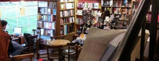 Upstart Crow Bookstore & Coffeehouse is one of Favorite Haunts Insane Diego.