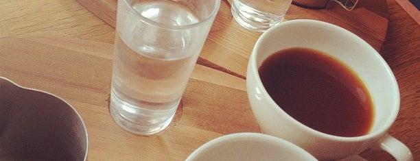 Tim Wendelboe is one of Slow/Filter coffee bars.