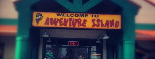 Adventure Island is one of Gulf Shores.