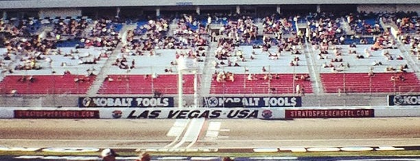 Las Vegas Motor Speedway is one of Vegas to do.