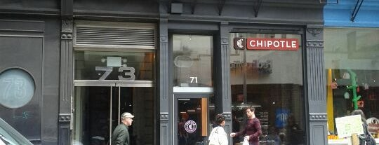 Chipotle Mexican Grill is one of Orte, die Alberto J S gefallen.