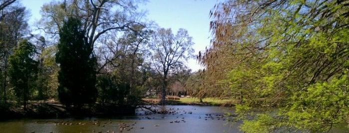 Audubon Park is one of New Orleans.