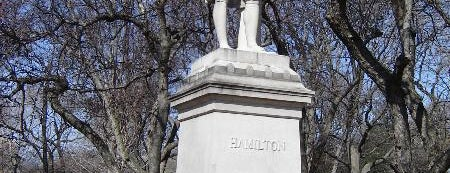Alexander Hamilton Statue is one of Revolutionary War Trip.