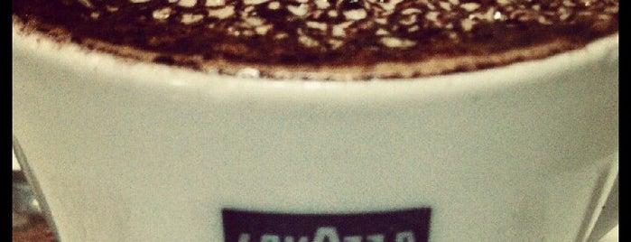 Caffe Vittoria is one of caffeine // boston.