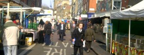 Leather Lane Market is one of London, best of.