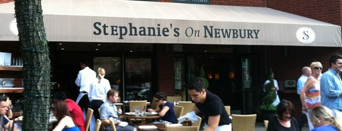 Stephanie's On Newbury is one of Boston.