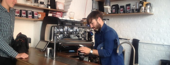 Protein by Dunne Frankowski is one of Specialty Coffee Shops (London).