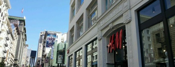 H&M is one of San Francisco!.