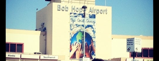 Hollywood Burbank Airport (BUR) is one of LA Places.