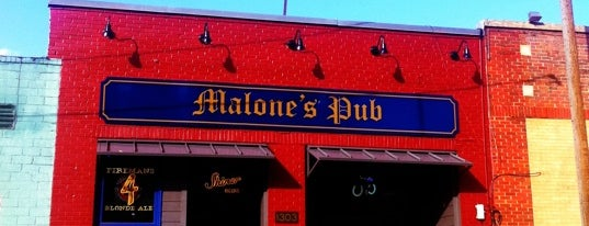 Malone's Pub is one of dfw.