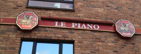 Le Piano is one of LLN.