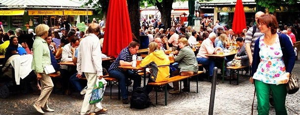 Biergarten am Viktualienmarkt is one of Restaurants Munich.