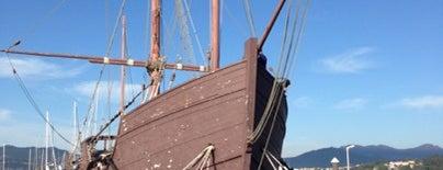 Replica Calavera Pinta is one of Fake Ships (fantasy replicas).