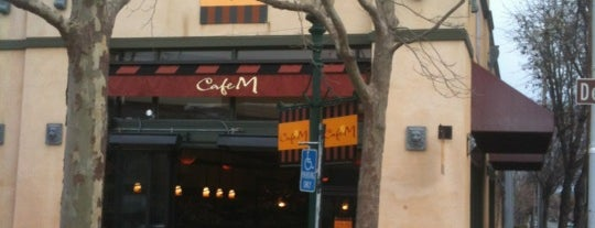 Cafe M is one of East Bay.