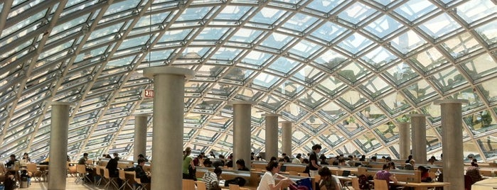 Joe and Rika Mansueto Library is one of Chicago.
