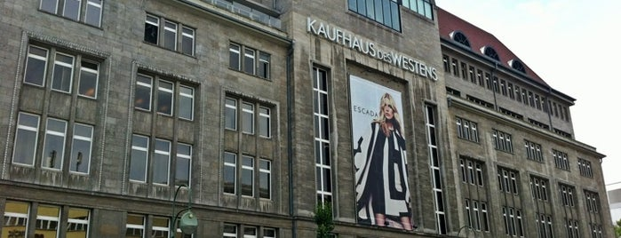 Kaufhaus des Westens (KaDeWe) is one of Berlinale.