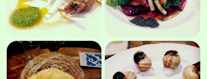 Bistro Vue-Vue De Monde is one of Gourmet Grocers, Bon Boutiques, Artisan Emporiums:.