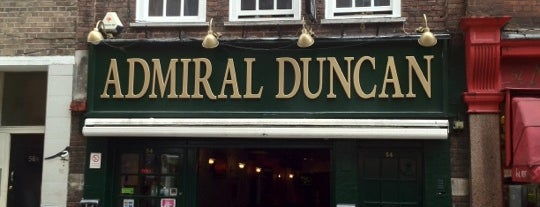 Admiral Duncan is one of London.