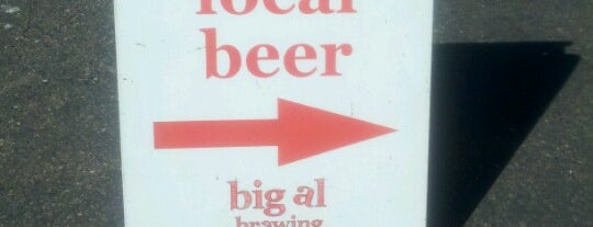 Big Al Brewing is one of Brews at the Source.