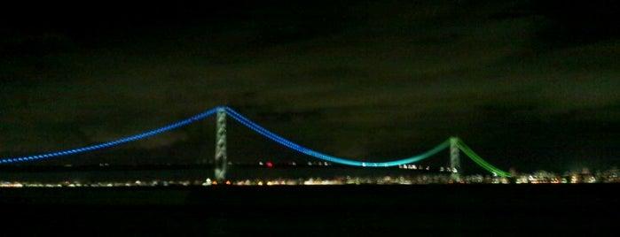 明石海峡大橋 is one of 日本夜景遺産.