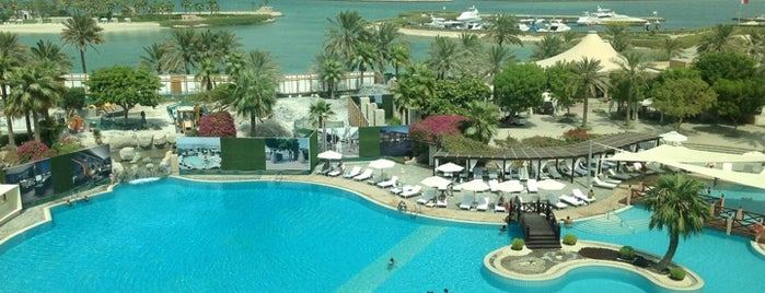 The Ritz-Carlton Bahrain is one of 50 Best Swimming Pools in the World.