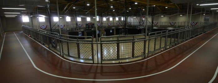 Al Oerter Recreation Center is one of Virtual Tour of Flushing Meadows Corona Park.