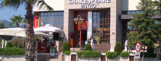 Shakespeare Coffee & Bistro is one of Antalya genel gezilir.