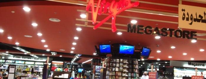 Virgin Mega Store is one of Lugares favoritos de Omar.