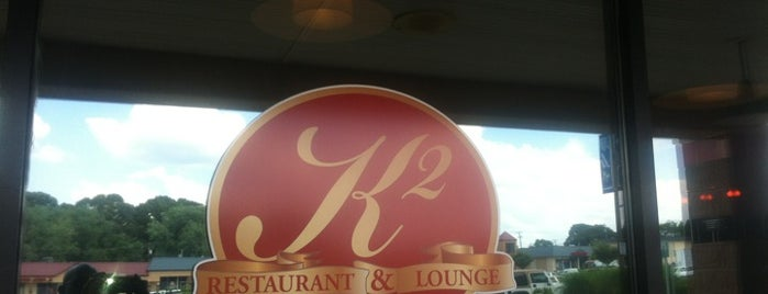 K2 Restaurant and Lounge is one of Local Redskins Rally Bars.