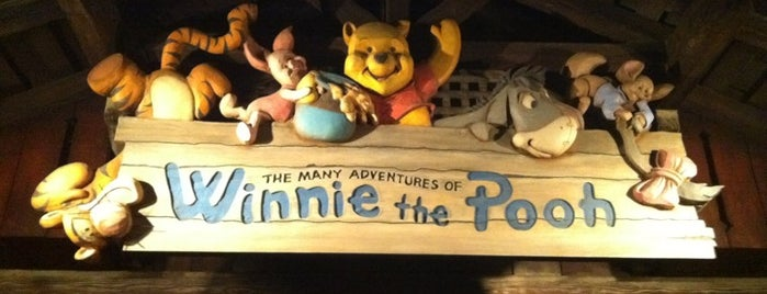 The Many Adventures of Winnie the Pooh is one of Orte, die Nikole gefallen.
