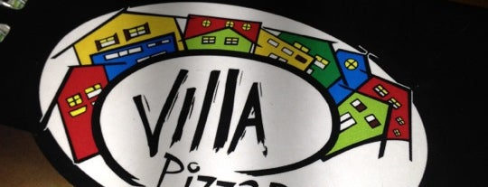 Villa Pizza Bar is one of Fábio.