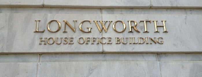 Longworth House Office Building is one of A Not So Tourist Guide to DC.