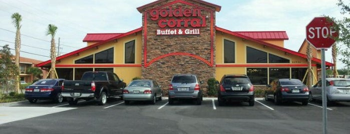Golden Corral is one of สถานที่ที่ O. WENDELL ถูกใจ.