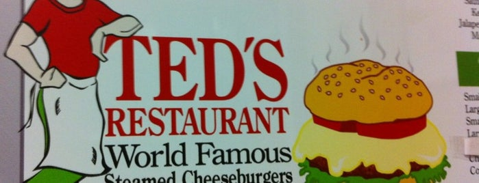 Ted's Restaurant is one of Lieux sauvegardés par Adam.