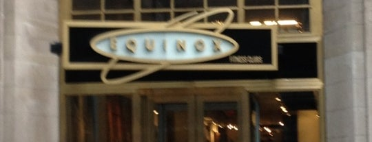 Equinox East 44th Street is one of NYC My Gyms.