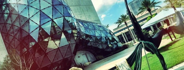 The Dali Museum is one of Stevenson's Favorite Art Museums.
