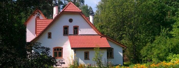 Музей-заповедник В. Д. Поленова is one of Ancient manors of Russia.