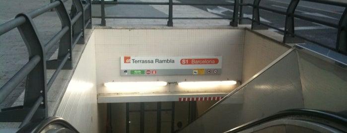 FGC Terrassa-Rambla is one of Lugares favoritos de Bárbara.