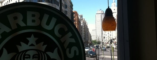 Starbucks is one of All American Life in Madrid.