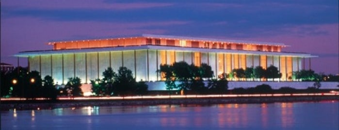 The John F. Kennedy Center for the Performing Arts is one of DC.